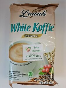 Luwak White Koffie 3 in 1 Instant Coffee - ORIGINAL FLAVOUR FREE DELIVERY