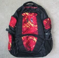 Under Armour Black Backpack With Red Graphic Print Panels Style  #1218031