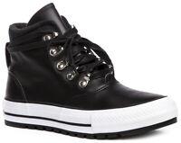CONVERSE Chuck Taylor All Star Leather 557916C Sneaker Schuhe Boots Damen Neu