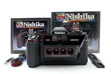 Nishika N8000 【Near Mint】 35mm Quadrascopic Stereo 3D Lenticular Camera Boxed