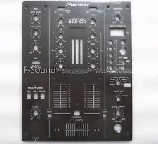 New OEM  Pioneer DJM-400 Front Plate Control Panel DNB1145 , DJM400 Mixer