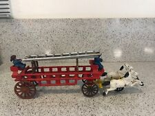 """LADDER SET FOR HUBLEY 126  AND OTHER LARGE FIRE LADDER WAGONS  2-18/""""- 1 15/"""""""