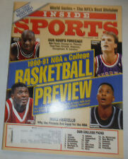 Inside Sports Magazine Michael Jordan & Chambers Mourning November 1990 021015R