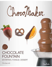 "ChocoMaker Inc. 14"" Chocolate Fountain 3 Tiers - Fondue - Free Shipping!! New!!"
