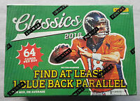 Panini Classics Football Blaster Box NFL 2016 1 Blue Black Parallel per Box