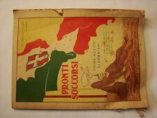 (Gualtiero Calvori) Pronti soccorsi prime nozioni elementari 1915 Sulmona