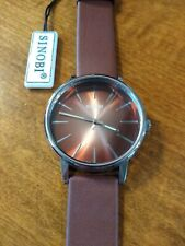 Vintage NOS Sinobi S9271G watch, running with new battery N
