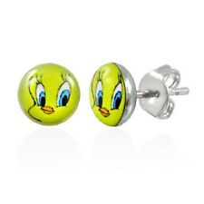 New Pair of Tweety Logo Stud Earrings Ladies/Girls