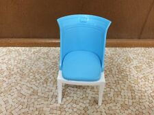 Barbie Doll My Dream House Decor Collection Bedroom Vanity Blue Chair Furniture