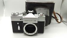 *1973 Vintage Old USSR Zenit B Film Camera M42 Screw Body+Leather Case PERFECT!