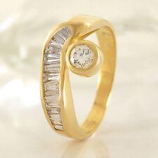 Markenlose Ringe aus Gelbgold mit VVS1 Reinheit