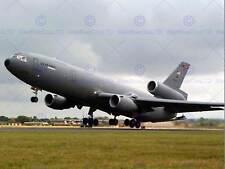 Military Air Plane Fighter Jet USAF KC10 Extensor de combustible cartel Art Print BB1170B