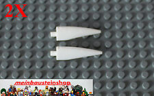 2x lego ® 11089 garra cuerno Barb Claw 1x4x1 grande en blanco nuevo