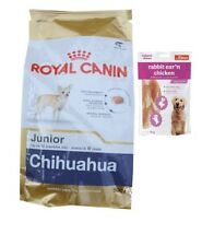 1,5kg Royal Canin Chihuahua 30 Junior Hundefutter + 80g Fleischsnacks