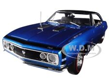 1967 CHEVROLET CAMARO SS 427 BALDWIN MOTION BLUE 1/18 MODEL BY AUTOWORLD AMM1118