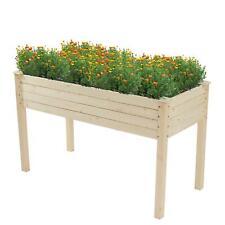 New Wooden Garden Raised Bed Elevated Planting Flower Box Vegetable Planter Herb