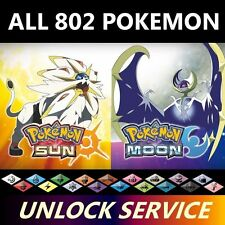 Mail-in Your Pokemon Ultra Sun/Moon Game - Get All Shiny Pokemon, All Items 3DS