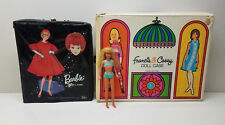 1960's 70's Lot Skipper Tnt Doll Barbie Doll Case & Francie & Casey Case Clothes