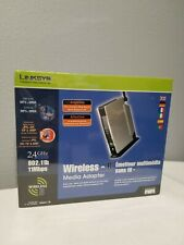LinkSys Wireless - B Media Adapter 802.11b 11Mbps Music Digital Picture # WMA11B