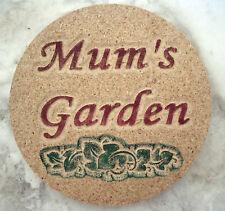 """Mum's Garden"" mold concrete plaster plastic mold"