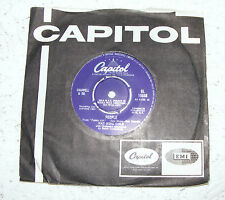 """Nat  King  Cole   People  ( From  Funny  Girl ) / Wild  Is Love  7"""" Vinyl Record"""