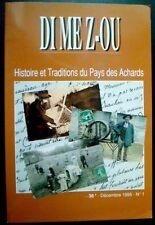 DI ME Z-OU Traditions du Pays des Achards n°1 1995 La Roche/Yon,Sables d'Olonne,