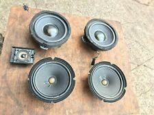 2004 AUDI TT MK1 COUPE BOSE SPEAKER SET UP   7 speakers