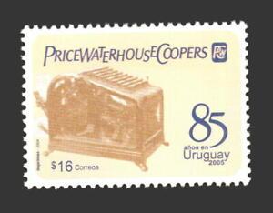 PWC PriceWaterhouseCoopers vintage calculator machine URUGUAY Sc#2094 MNH STAMP