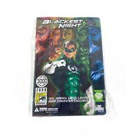 Blackest Night Green Lantern Hal Jordan Figure 2009 SDCC Comic-Con Release NIB