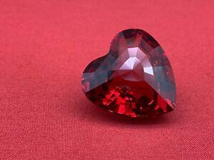 Swarovski Figurine Heart Red 1 13/16in Top Condition