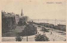 AK Düsseldorf Rheinpartie Feldpost von 1915 (F414)