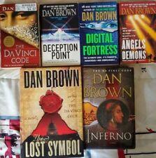 Dan Brown Mixed lot of 6 Books - Da Vinci Code Series