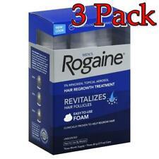 Men's Rogaine 5% Hair Regrowth Treatment, 3 X 2.11oz, 3 Pack 312547781350S4025