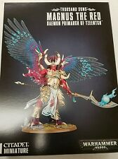 Warhammer 40K Horus Heresy MAGNUS THE RED Thousand Sons Daemon Primarch Tzeentch