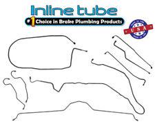 74-82 Chevrolet Corvette Manual Disc Complete Brake Line Kit Set 8pc STAINLESS