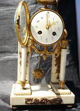 "Pendola antica francese 19 secolo ""A. Chapus"" rue de Rivoli Parigi raro orologio"