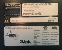Lutron Grafik-Eye CGP24-1203ML-20-CGP278 20 Zone Lighting Control Panel