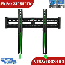 Ultra Slim Flat Compact TV Wall Mount Bracket For 23-55 Inch LG Samsung LCD LED