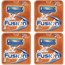 NEW AUTHENTIC Gillette Fusion Razor Blades Cartridge Refills - 32 Count