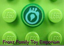 New LEGO Round Tile Trans Green 1x1 Ninjago Venomari Snake Staff/Fang Blade Part