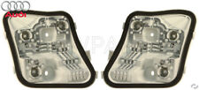 Audi A3 Quattro 2006-2008 Pair Set of 2 Outer Tail Light Bulb Holders Genuine
