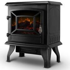 17-Inches Freestanding Modern Electric Arched Frame Fireplace Heater Stove 1400w
