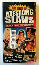 The Best of Wrestling Slams ~ New Sealed VHS ~ Rare WWF WCW Wrestling Video