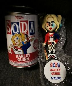 Harley Quinn Funko Soda Vinyl Figure Common
