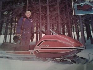 1977 Scorpion Snowmobile Range Whip Decal Kit