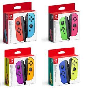 Nintendo Coppia Set Joy-Con Controller Originale Gamepad Per Nintendo Switch