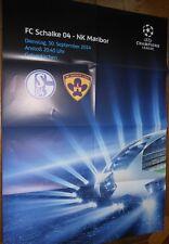Jeu affiche + FC schalke 04 vs NK Maribor 1960 + Ligue des champions + 30.09.2014 +