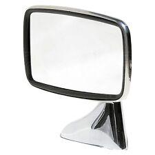 Classic Stainless Steel Door Mirror - Mountney CDM2 - Door / Wing Mirror - Left