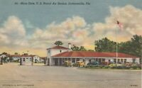 (U)  Jacksonville, FL -U.S. Naval Air Station - Main Gate and Surroundings