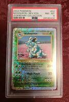 PSA 8 Nidoqueen 32/110 REVERSE FOIL RARE 2002 Pokemon Card Legendary Collection